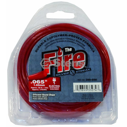 "Picture of .065"" ""Fire"" Trimmer Line - Clamshell"