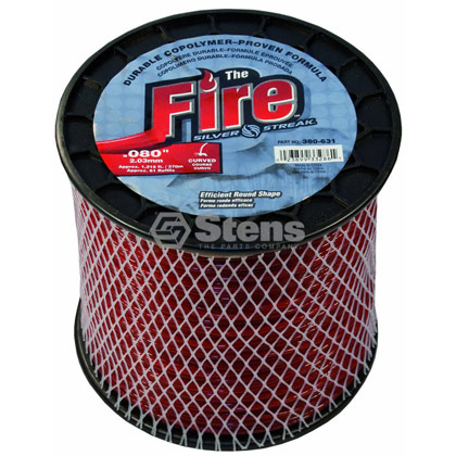 "Picture of .080"" ""Fire"" Trimmer Line - 3 lb. Spool"