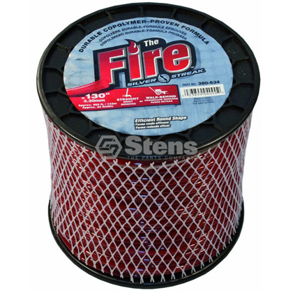"Picture of .130"" ""Fire"" Trimmer Line - 3 lb. Spool"