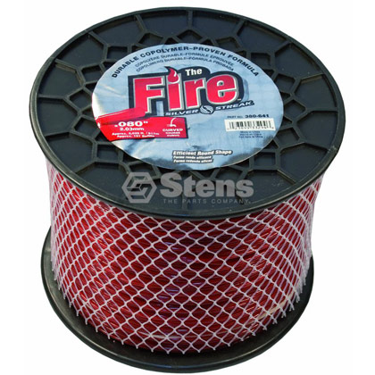 "Picture of .080"" ""Fire"" Trimmer Line - 5 lb. Spool"