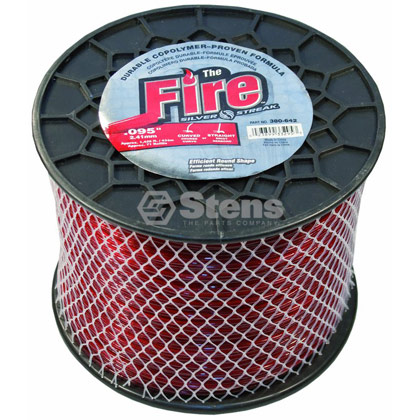 "Picture of .095"" ""Fire"" Trimmer Line - 5 lb. Spool"