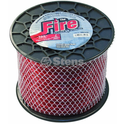 "Picture of .105"" ""Fire "" Trimmer Line - 5 lb. Spool"