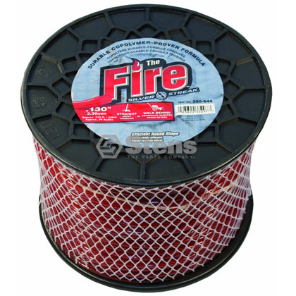 "Picture of .130"" ""Fire"" Trimmer Line - 5 lb. Spool"