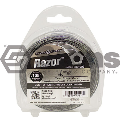 "Picture of .105"" ""Razor"" Trimmer Line - Clamshell"