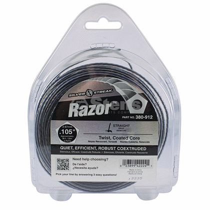 "Picture of .105"" ""Razor"" Trimmer Line - 1/2 lb. Donut"