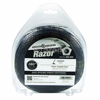 "Picture of .080"" ""Razor"" Trimmer Line - 1 lb. Donut"