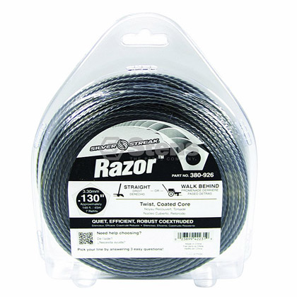 "Picture of .130"" ""Razor"" Trimmer Line - 1 lb. Donut"