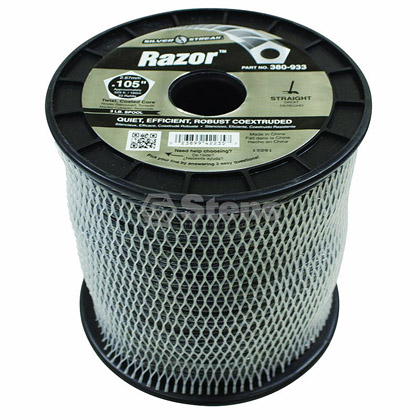 "Picture of .105"" ""Razor"" Trimmer Line - 3 lb. Spool"