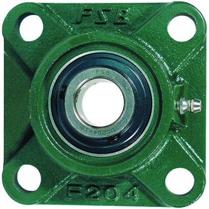 Picture of 4-Hole Set Screw Flange Unit - 3/4""