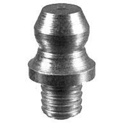 "Picture of 3/16"" Drive-In Grease Fitting - Serrated Base - Straight - PACK OF 100"