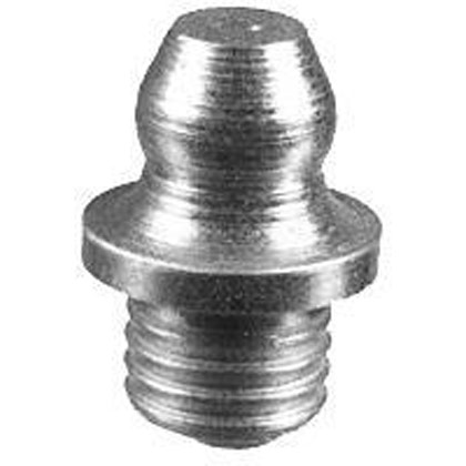 "Picture of 1/4"" Drive-In Grease Fitting - Serrated Base - Straight - PACK OF 100"