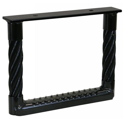 "Picture of 15"" T x 15"" W Black Cable Step"