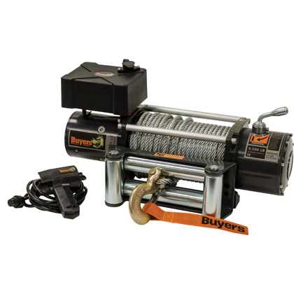 Picture of 9,500 lb. 12V Electric Waterproof Winch