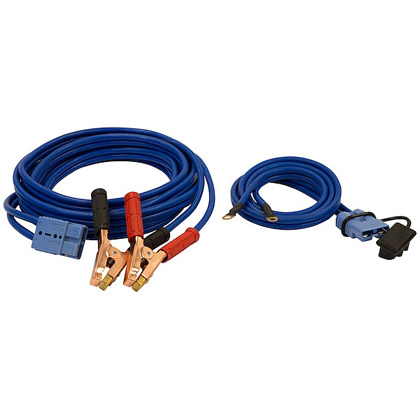 Picture of 28' Jumper Cables Kit with Blue Quick Connect