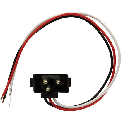 "Picture of 12"" 3-Pin Inline Male Plug - PACK OF 100"