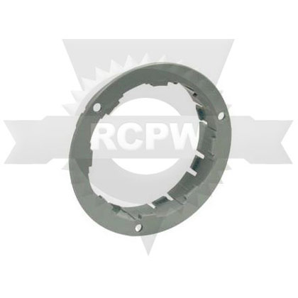 "Picture of 4"" Gray Plastic Security Flange For Round Recessed Lights - PACK OF 100"
