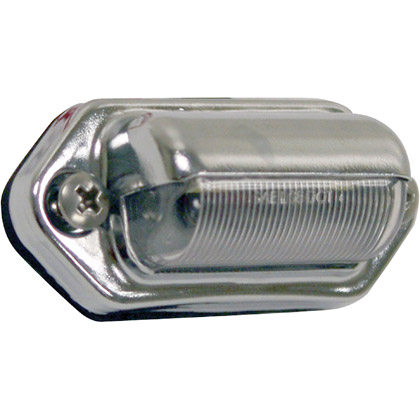 "Picture of 2"" 2 LED Clear License Plate Light - PACK OF 10"