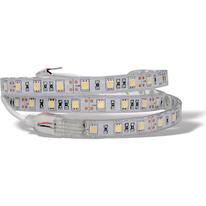 "Picture of 36"" Clear, Warm 54 LED Strip Light"