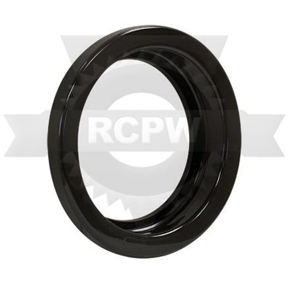 "Picture of 4"" Recessed Black TPR Grommet for Round Recessed Lights - PACK OF 100"