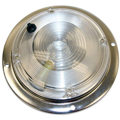 "Picture of 5"" Round Incandescent Interior Dome Light"