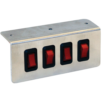 Picture of Quad Switch Panel, On-Off Illuminated