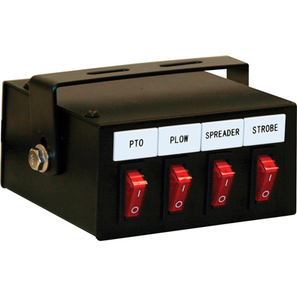 Picture of 4-Function Backlit Pre-wired Switch Box