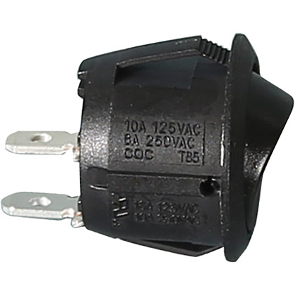 "Picture of .75"" Mini Rocker Switch, Momentary-On"
