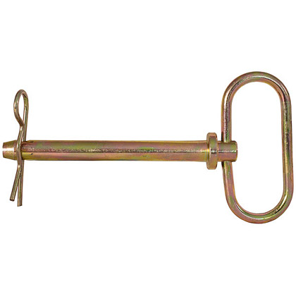 "Picture of Forged Steel Hitch Pin with Cotter - 1/2"" x 4-1/4"""