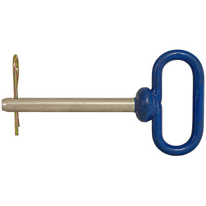 """Picture of Poly-Coated Hitch Pin with Cotter - 7/8"""" x 4-1/2"""""""