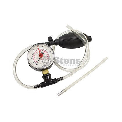 Picture of Carburetor and Crankcase Pressure Gauge