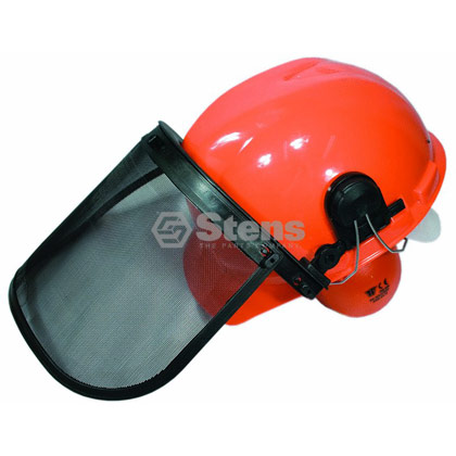 Picture of Helmet System - Combination Helmet, Face Shield and Ear Muff Protection