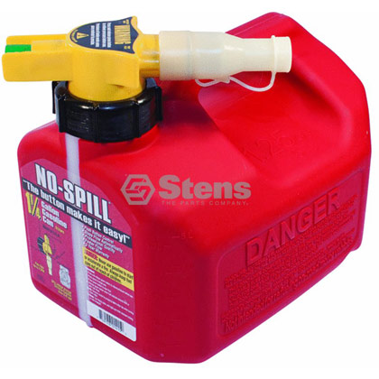 Picture of 1-1/4 Gallon No-Spill Gas Fuel Can