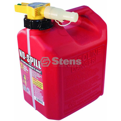 Picture of 2-1/2 Gallon No-Spill Gas Fuel Can