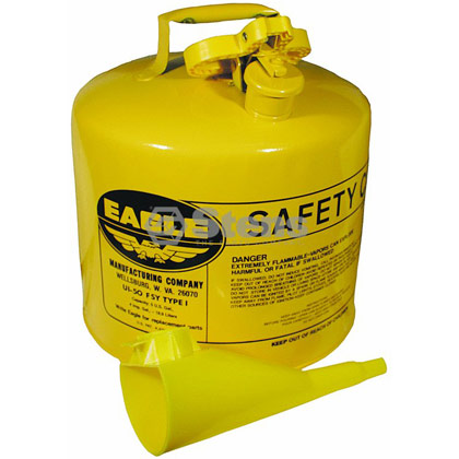 Picture of 5 Gallon Metal Diesel Safety Can with Funnel