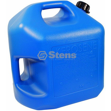 Picture of 5 Gallon Blue Plastic Kerosene Can