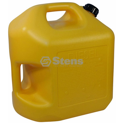 Picture of 5 Gallon Spill Proof Plastic Diesel Can - Carb Approved - INDIVIDUAL