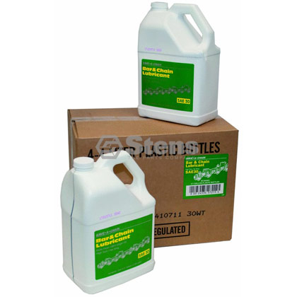 Picture of 4 Gallon Bottles of Bar and Chain Oil (Summer Formula)