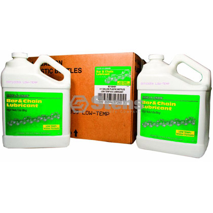 Picture of 4 Gallon Bottles of Bar and Chain Oil (Winter Formula)