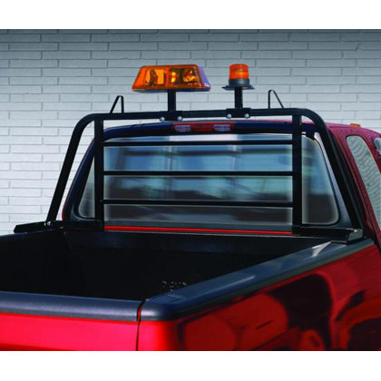 "Picture of 69.5"" x 26.5"" Universal Mount Full Size Window Protector for Full-Size Pickup Trucks with Cabs Up to 26"" Above Bed"