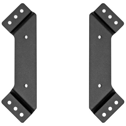 Picture of Aluminum Black Powder Coat Mounting Brackets