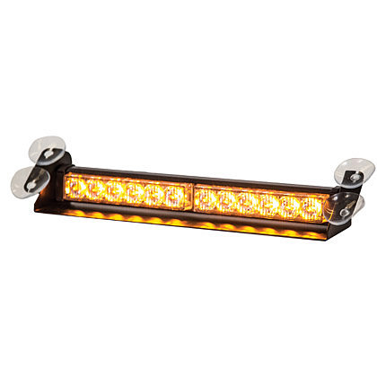 Picture of 12 Amber LED Dashboard Light Bar