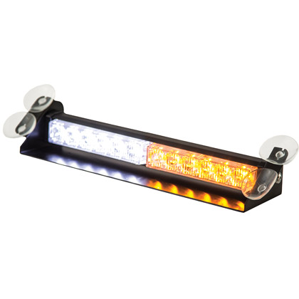 Picture of 12 Amber/Clear LED Dashboard Light Bar