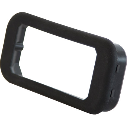 "Picture of 5"" Recessed Black Grommet Mount"