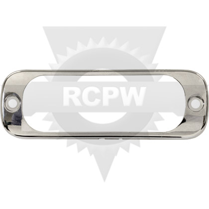Picture of Chrome Bezel for 3 LED Thin Mount Strobe Lights (8892300 Series)