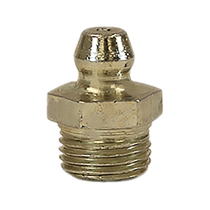 "Picture of 1/4"" Pipe Thread Grease Fitting - Straight - PACK OF 100"