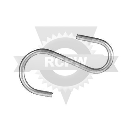 "Picture of S-Hook - 2-1/2"" Long - PACK OF 100"