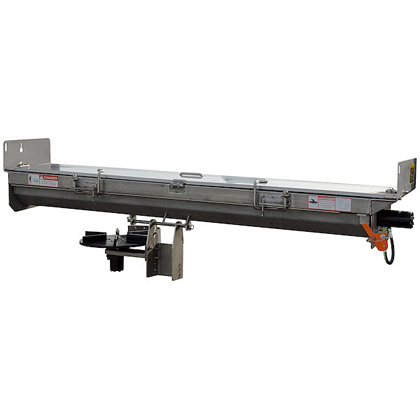 "Picture of Buyers SaltDogg 96"" Hydraulic Drive 304 Stainless Steel Under Tailgate Spreader with Hydraulic Safety Lockout System (8"" Side Shields)"