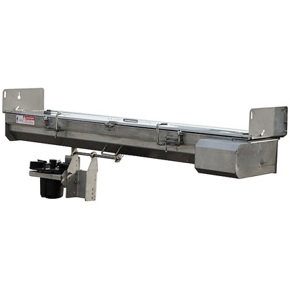 "Picture of Buyers SaltDogg 96"" 12V Electric Drive 304 Stainless Steel Under Tailgate Spreader (Standard Discharge)"