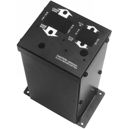 """Picture of Air PTO/Air Hoist Mounting Console for Chelsea PTO / Williams Air Valves - 14-1/8""""H"""