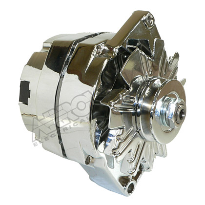 Picture of Chrome Alternator for 10SI Series